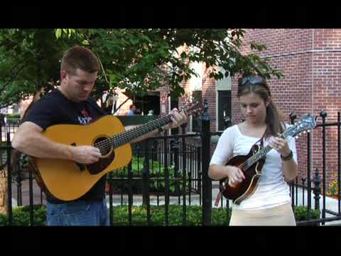 Sierra Hull & Clay Hess at Lowell Folk Festival 2009