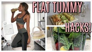 MY FLAT TUMMY SECRETS! | Lauren Elizabeth