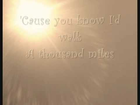 Thousand Miles Lyrics