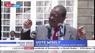 Musalia Mudavadi: Kenyans should vote wisely