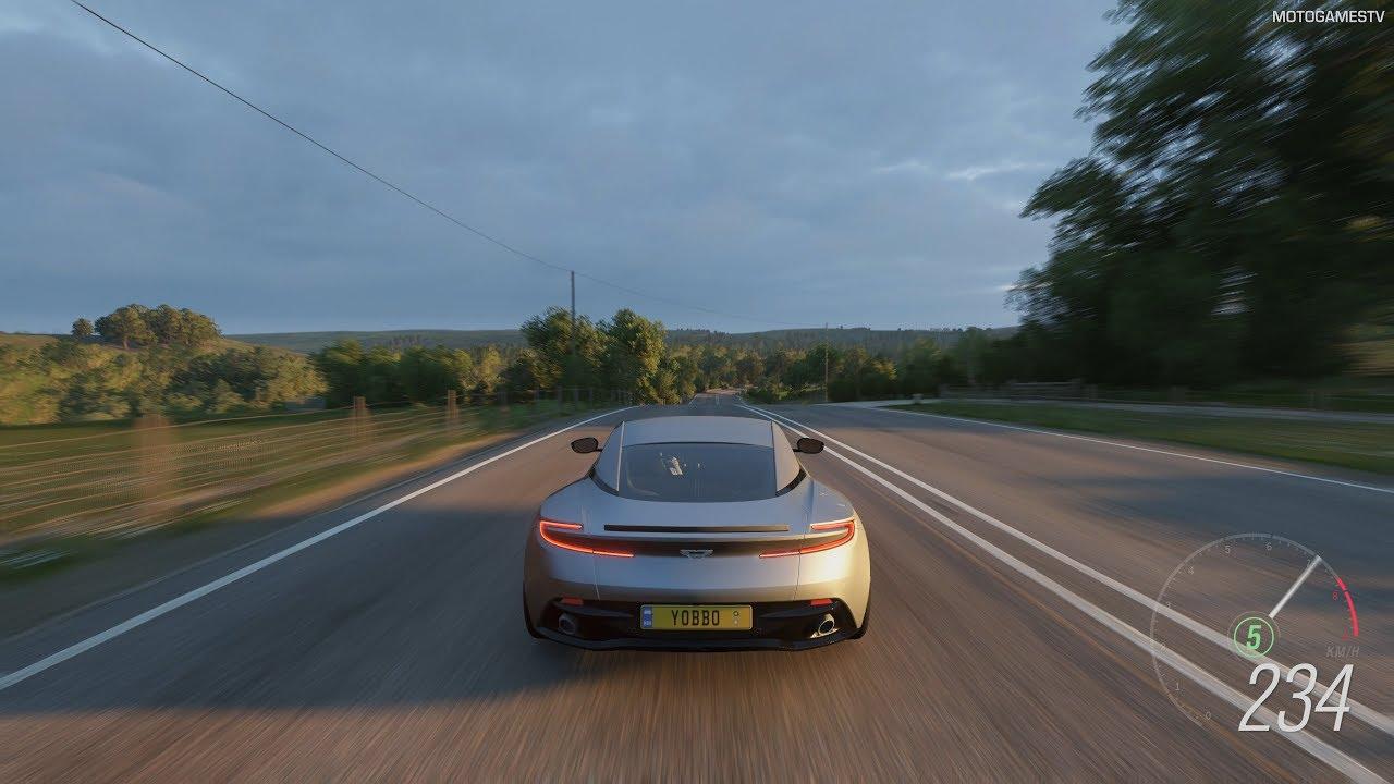 Forza Horizon 4 2017 Aston Martin Db11 Preorder Car Gameplay 4k Youtube