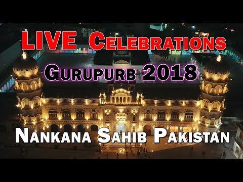 2ND Day Gurupurb Celebrations Live from gurudawara Janam asthan sri nankana sahib Pakistan