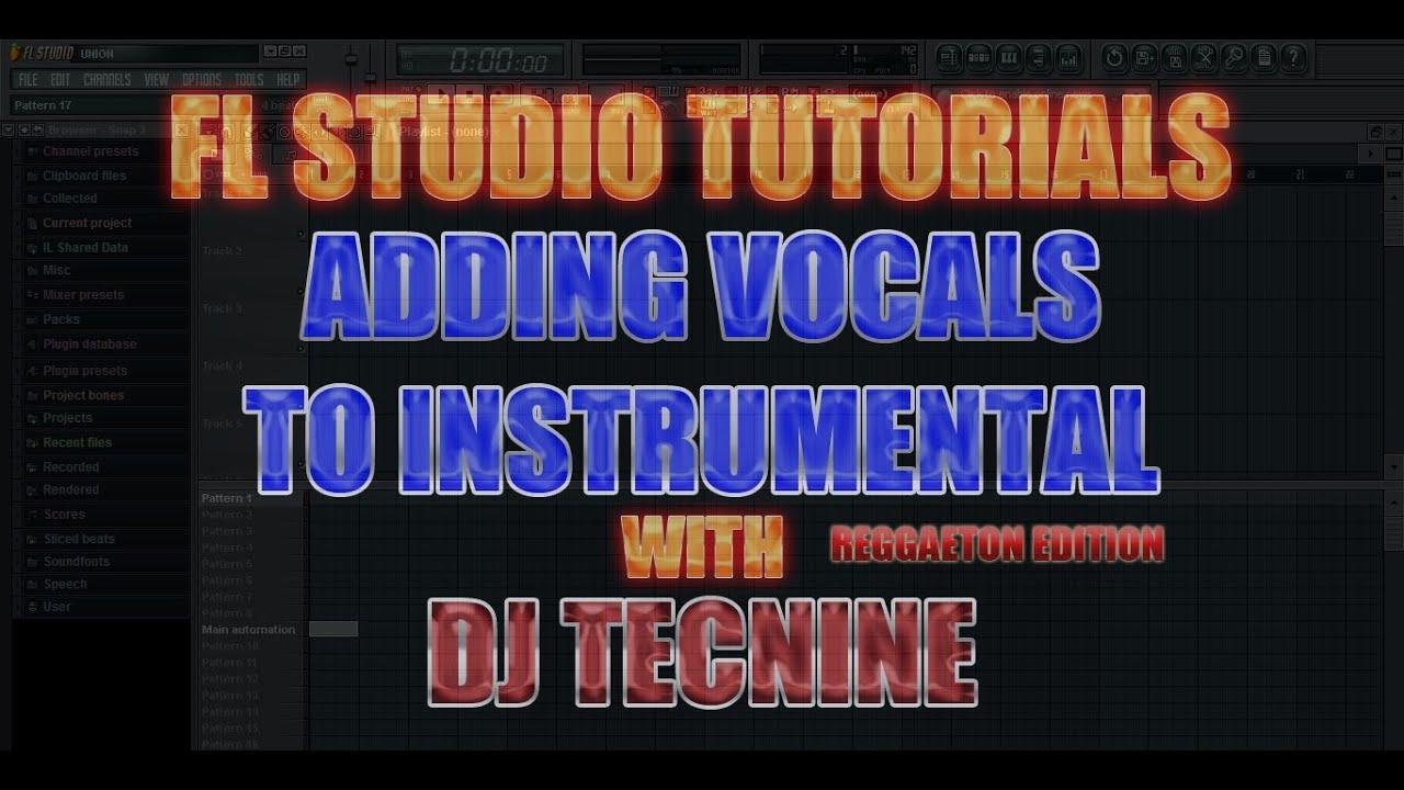 importing vocals wav mp3 adding effects fl studio youtube. Black Bedroom Furniture Sets. Home Design Ideas
