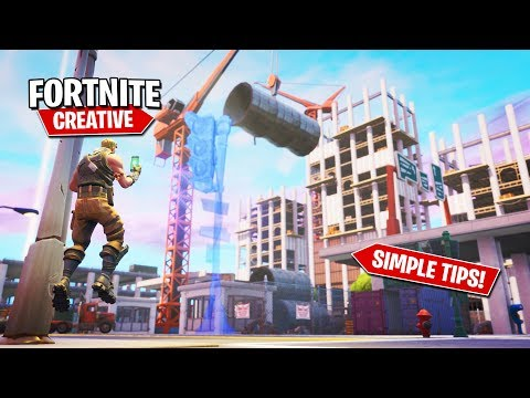 7 Simple Tips To Make You A Better Creative Builder! - Fortnite Creative