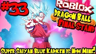 SUPER SAIYAN BLUE KAIOKEN IS NOW MINE! | Roblox: Dragon Ball Final Stand - Episode 33