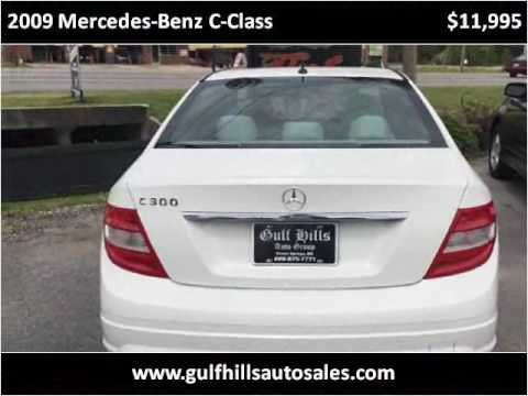 2009 Mercedes-Benz C-Class Used Cars Ocean Springs MS