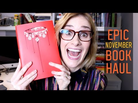 November 2017 Book Haul   Red Queen, The Power, & More!   Epic Book Haul