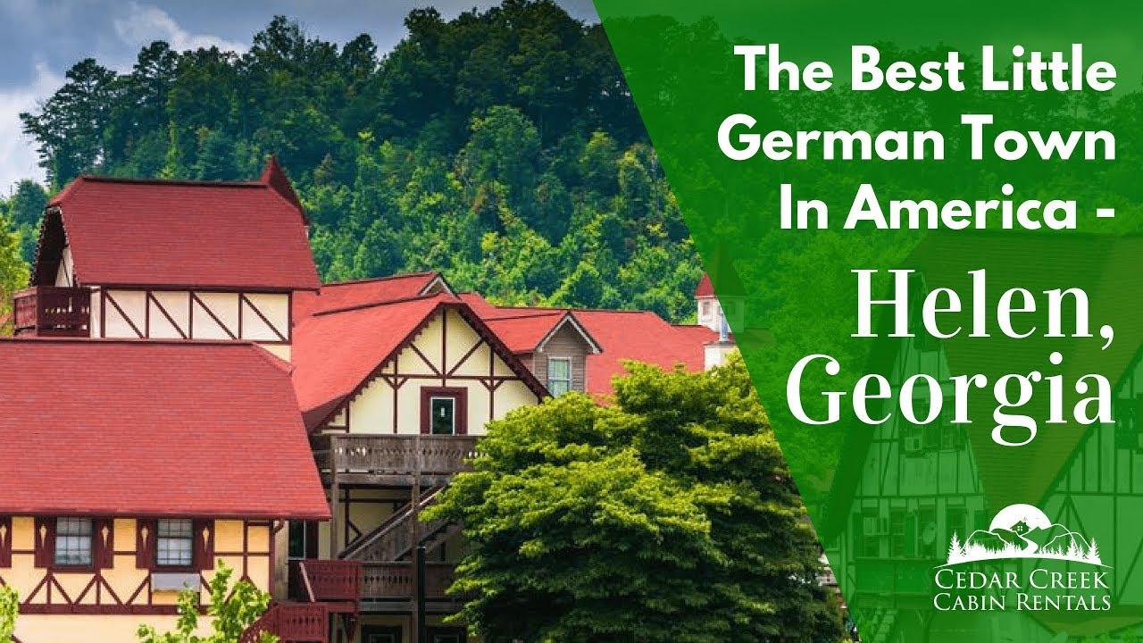 helen, georgia is the best little german town in america
