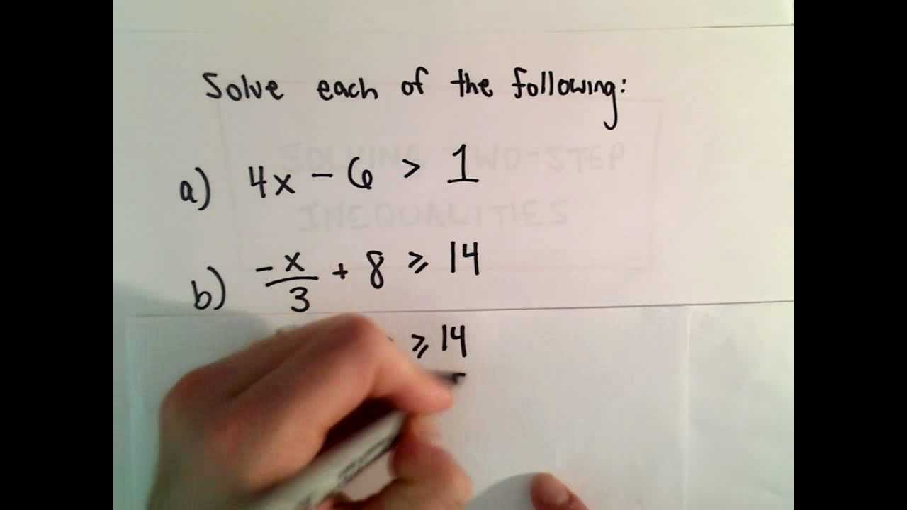 small resolution of Multi-Step Word Problems - Inequalities (examples