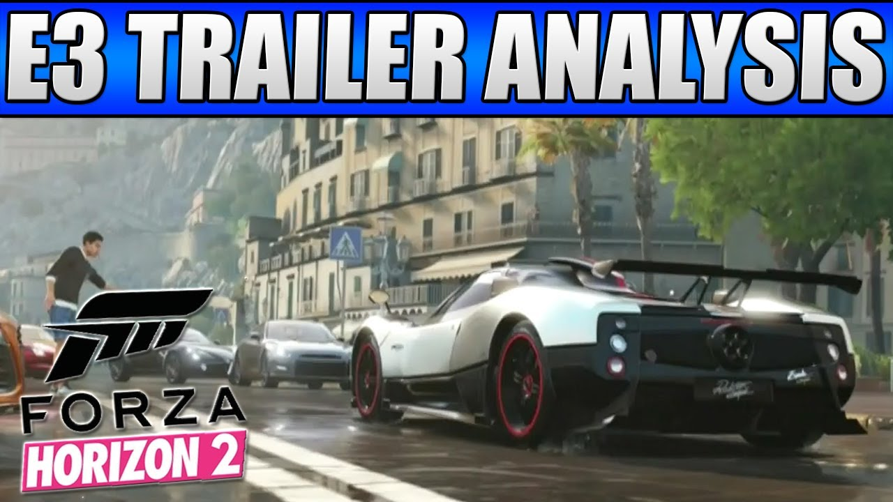 forza horizon 2 e3 official trailer in depth analysis. Black Bedroom Furniture Sets. Home Design Ideas