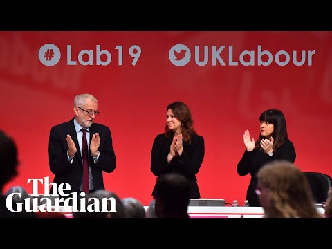 Jeremy Corbyn addresses Labour party conference - watch live