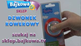 swinka Peppa dzwonek