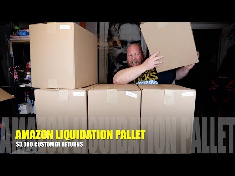 I bought a $3322 Amazon Customer Returns Liquidation Pallet + 9 Mystery Boxes TOTAL