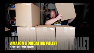 I bought a $3,322 Amazon Customer Returns Liquidation Pallet + 9 Mystery Boxes TOTAL