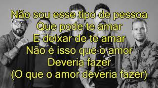 Baixar Backstreet Boys - Don't Go Breaking My Heart [tradução / português / letra]