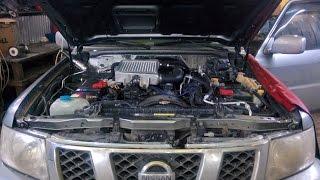 Nissan Patrol - ZD30 motor, Chip Tuning, yoqilg'i tizimi murakkab o'zgarishlar o'tkazishdi