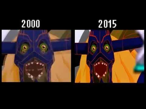 Digimon Our War Game  comparación