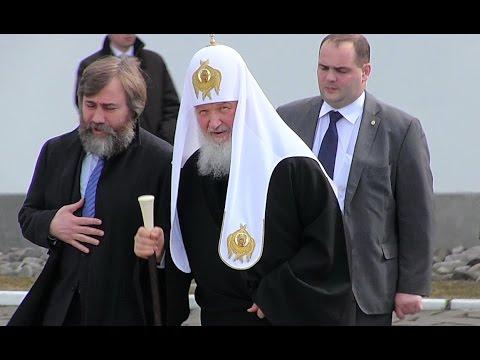 Визит патриарха Кирилла в Свирское. 17 апреля 2016 г.
