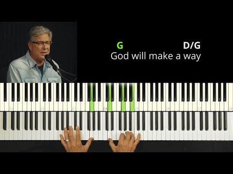 Don Moen - God Will Make A Way   Easy Piano Tutorial