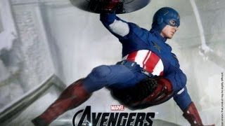 The Avengers Hot Toys Captain America Movie Masterpiece 1/6 Scale Collectible Figure Review