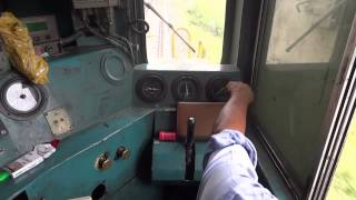 [IRFCA] Inside WDM2A Loco, Loco Pilot operating the Locomotive thumbnail