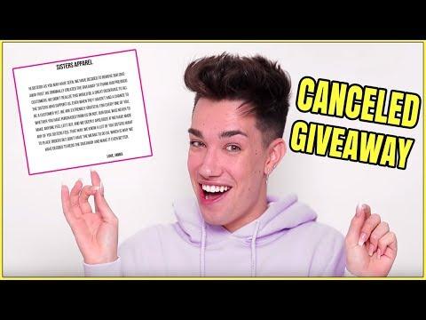 James Charles Just Upset His Fans - Giveaway Drama thumbnail