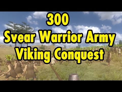 300 Svear Warrior Army - Viking Conquest