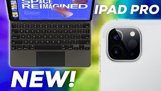 New iPad Pro with Trackpad Support + Pro Cameras!