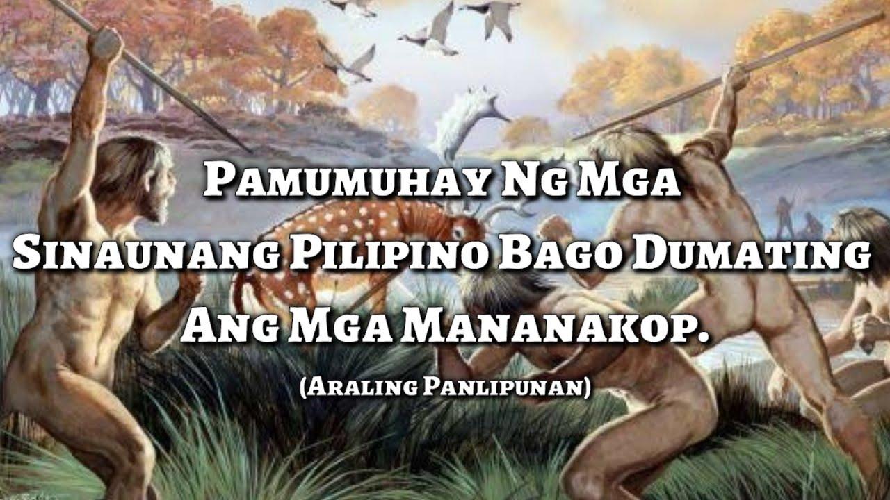 Download Pamumuhay ng mga Sinaunang Pilipino (K-12 MELCS Based)