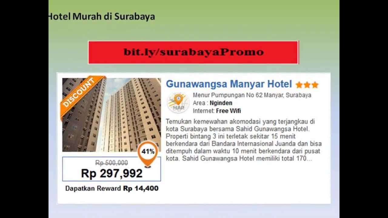 Hotel Murah Di Surabaya Dekat ATKP Penginapan