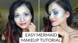 Easy Mermaid Makup Tutorial
