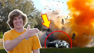 We Blew Up My Tesla! (Try this at home)