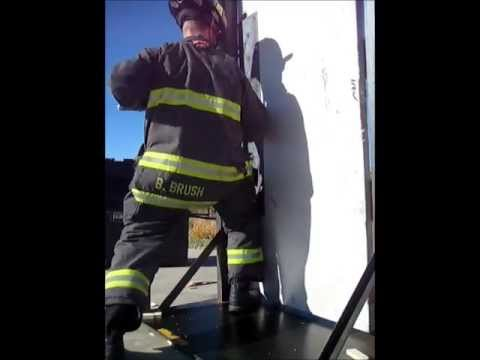 Single Firefighter Inward Swinging Door Using Adze