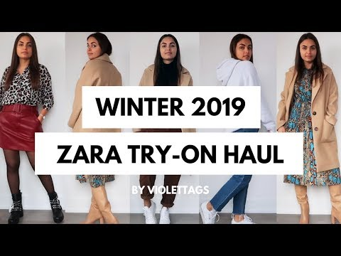 WINTER to SPRING ZARA SALE HAUL | Violetta Genova