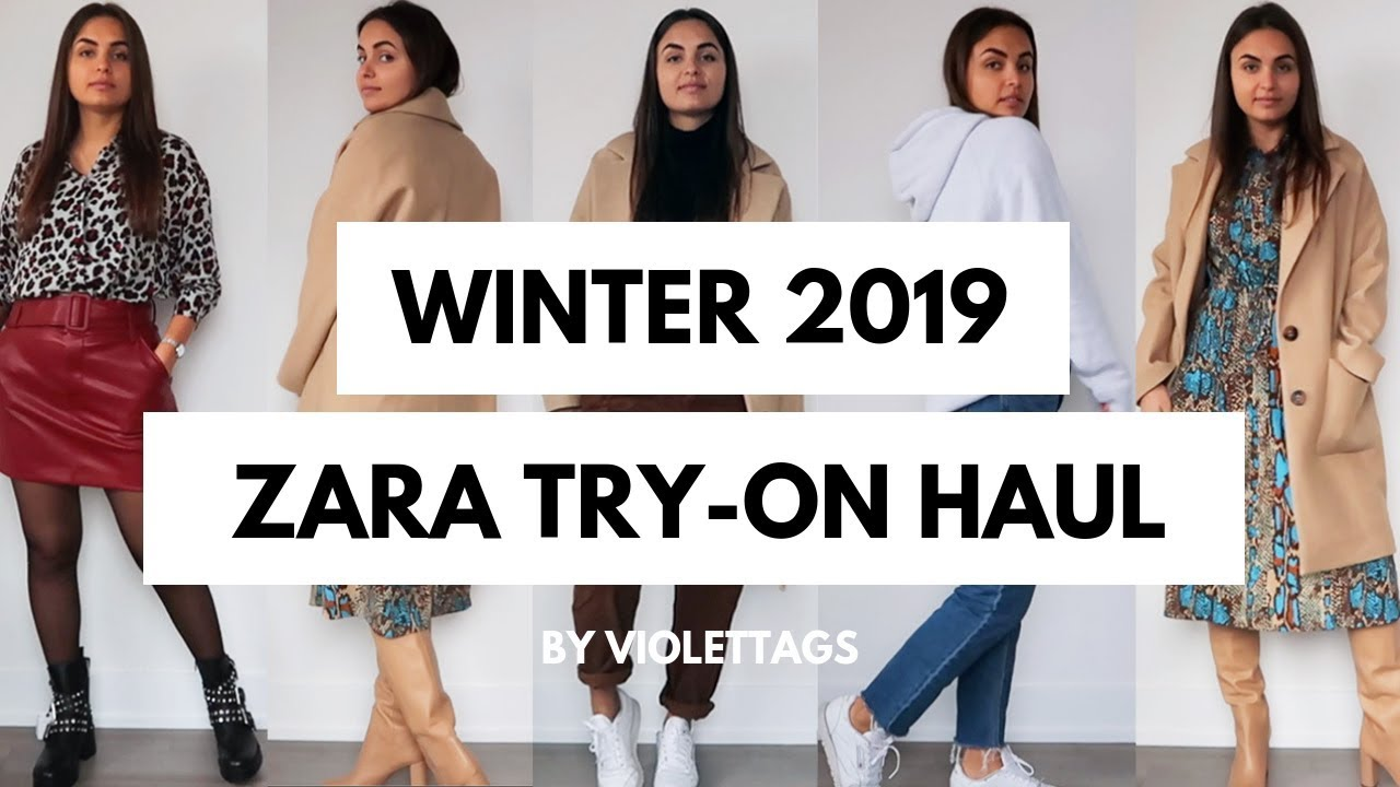 82054275 SPRING ZARA SALE HAUL | WINTER to SPRING 2019 | VIOLETTAGS - YouTube