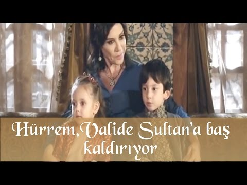 Hürrem Valide Sultan'a Baş Kaldırıyor - Muhteşem Yüzyıl 37.Bölüm