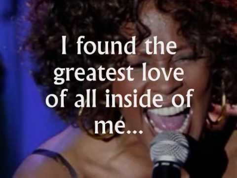 The Greatest Love Of All (lyrics) - Whitney Houston, A Tribute