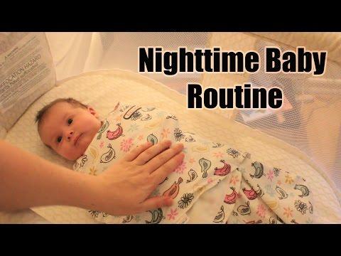 Michaela's Nighttime Baby routine