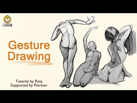 Gesture Drawing Tutorial By REIQ
