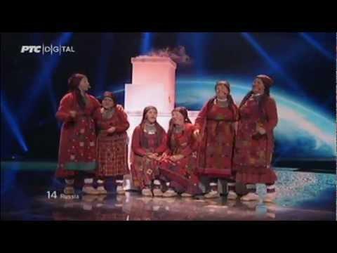 Выступление Бурановских бабушек на Евровидение-2012