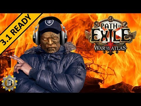 [3.1] Righteous Fire Build - Berserker Marauder - Path of Exile War For The Atlas - Abyss