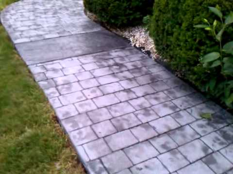 Stamped Concrete Nh Ma Contractor Driveways Walkways
