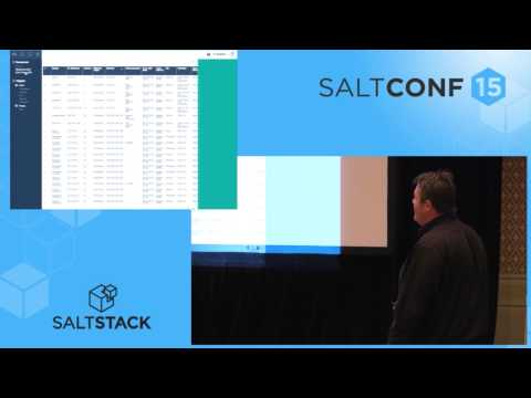SaltConf15 - SaltStack - An Overview of the New SaltStack Enterprise Graphical User Interface