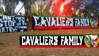 Ultras Cavaliers Family 09' - Making Of The New Banner.