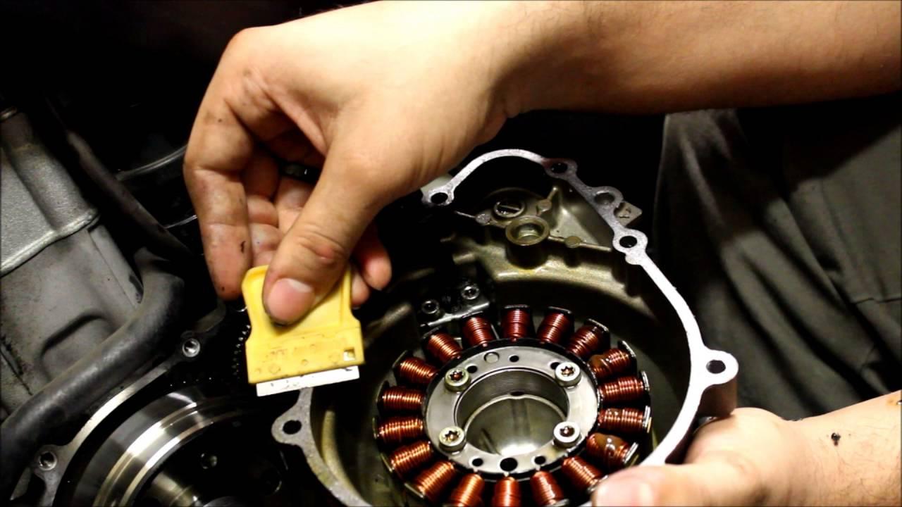 Right Crankcase Engine Starter Cover Gasket for Kawasaki Ninja ZX10R 08 09 10