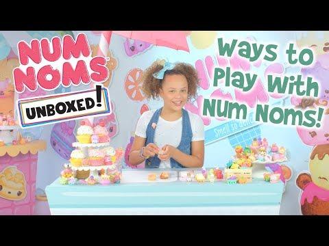 Unboxed! | Num Noms | Episode 9: Ways to Play with Num Noms!