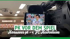 RE-LIVE: PK vor dem Spiel | Hannover 96 - 1. FC Heidenheim