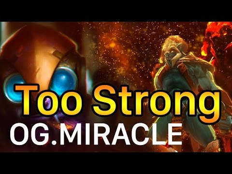 Dota 2 OG.Miracle is Too Strong OG vs Empire The Manila Major