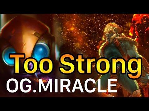 Dota 2 OG.Miracle is Too Strong OG vs Empire The Manila Major