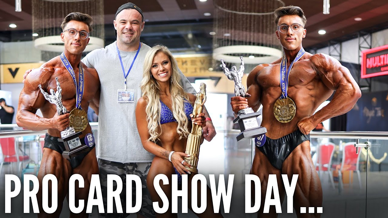 SHOW DAY | MY FIRST PRO QUALIFIER TO BECOME AN IFBB PRO…